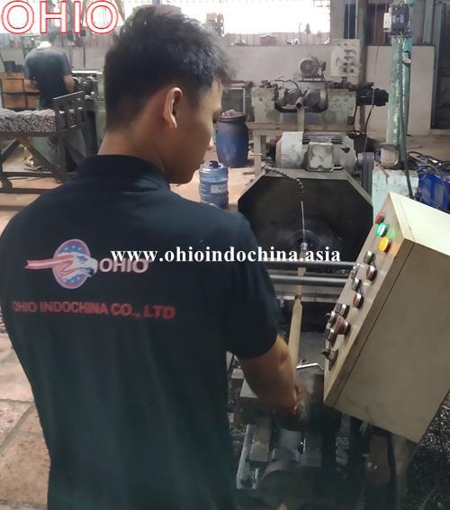 Quy trình sản xuất Bulong neo m30